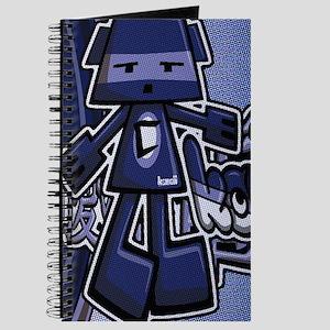 Cubist Mascot Tag Journal