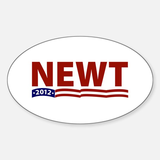 Newt 2012 Oval Decal