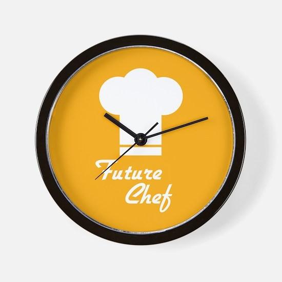 Future Chef Wall Clock