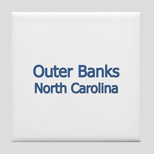 Outer Banks NC Tile Coaster