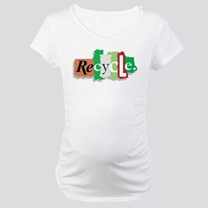 Let's Recycle Maternity T-Shirt