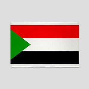 sudan Flag Rectangle Magnet