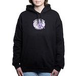 Plucky Comedy Relief Women's Hooded Sweatshirt