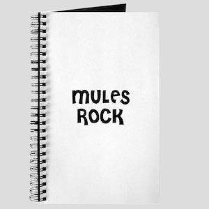 MULES ROCK Journal