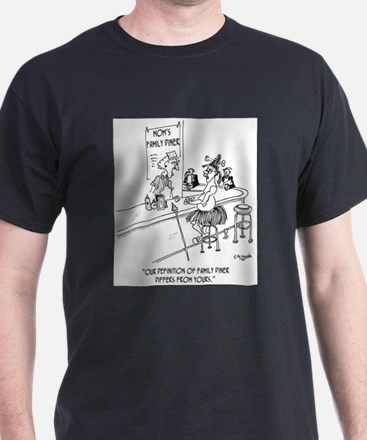 Restaurant Cartoon 1600 T-Shirt