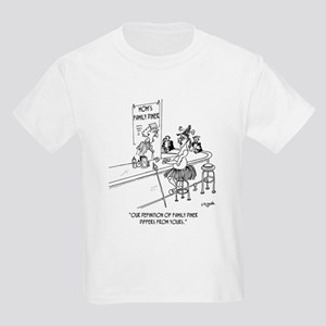 Restaurant Cartoon 1600 Kids Light T-Shirt