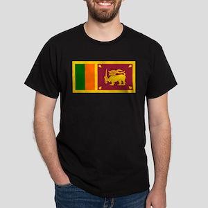 Sri Lanka Flag Dark T-Shirt