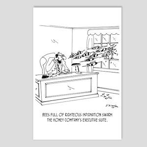 Honey Cartoon 9497 Postcards (Package of 8)