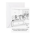Honey Cartoon 9497 Greeting Cards (Pk of 20)