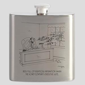 Honey Cartoon 9497 Flask