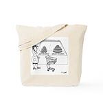 Dessert Cartoon 1775 Tote Bag