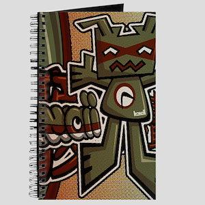 Robot Mascot Tag Journal