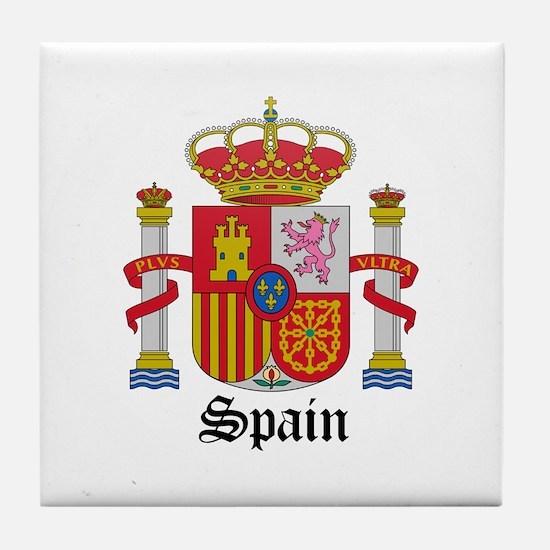 Spaniard Coat of Arms Seal Tile Coaster