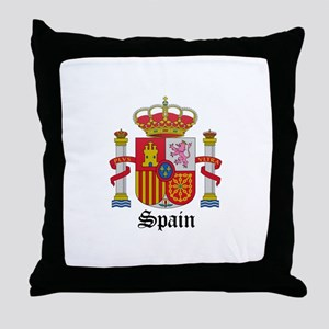 Spaniard Coat of Arms Seal Throw Pillow