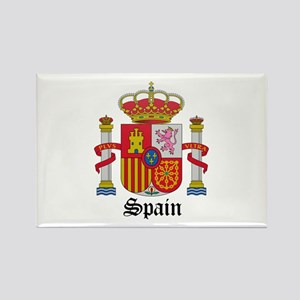 Spaniard Coat of Arms Seal Rectangle Magnet