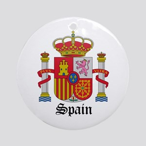 Spaniard Coat of Arms Seal Ornament (Round)