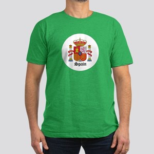Spaniard Coat of Arms Seal Men's Fitted T-Shirt (d
