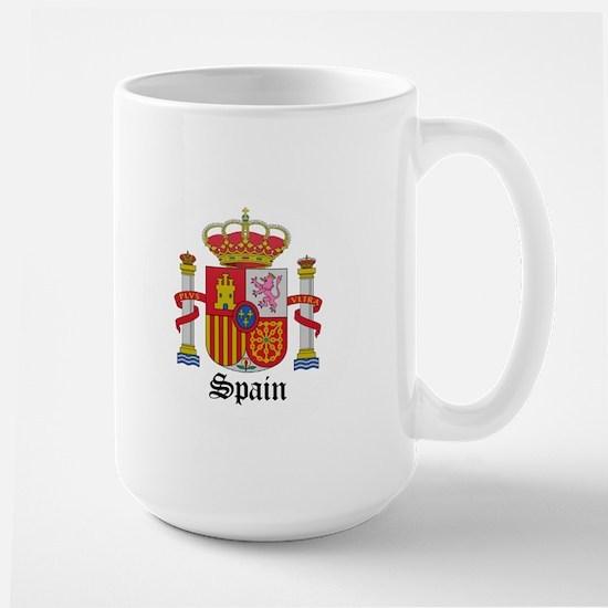 Spaniard Coat of Arms Seal Large Mug