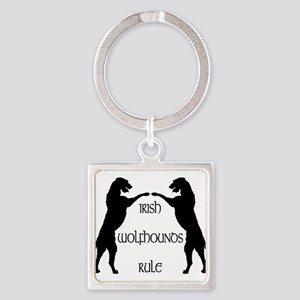 Irish Wolfhounds Rule Keychains