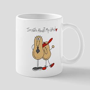 Nuts About My Dad Mug