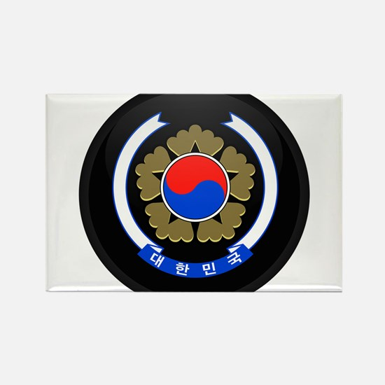 Coat of Arms of South Korea Rectangle Magnet