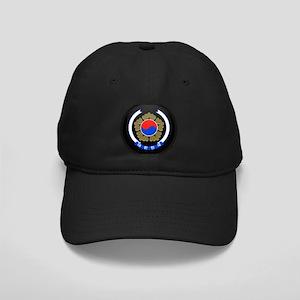 Coat of Arms of South Korea Black Cap