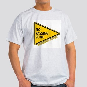 No Passing Zone Light T-Shirt