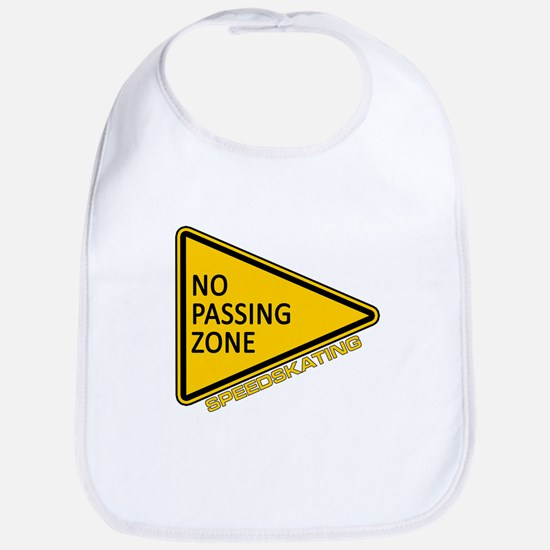 No Passing Zone Bib