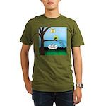 Lemming Leaf Coach Organic Men's T-Shirt (dark)