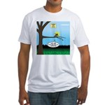 Lemming Leaf Coach Fitted T-Shirt