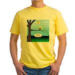 Lemming Leaf Coach Yellow T-Shirt