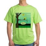 Lemming Leaf Coach Green T-Shirt