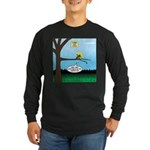 Lemming Leaf Coach Long Sleeve Dark T-Shirt