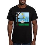 Lemming Leaf Coach Men's Fitted T-Shirt (dark)