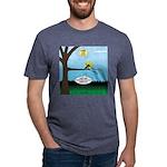 Lemming Leaf Coach Mens Tri-blend T-Shirt