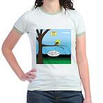 Lemming Leaf Coach Jr. Ringer T-Shirt