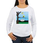 Lemming Leaf Coach Women's Long Sleeve T-Shirt