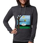 Lemming Leaf Coach Womens Hooded Shirt