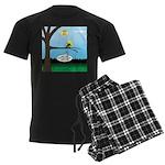 Lemming Leaf Coach Men's Dark Pajamas