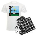 Lemming Leaf Coach Men's Light Pajamas
