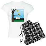 Lemming Leaf Coach Women's Light Pajamas