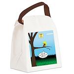 Lemming Leaf Coach Canvas Lunch Bag