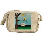 Lemming Leaf Coach Messenger Bag