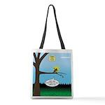 Lemming Leaf Coach Polyester Tote Bag