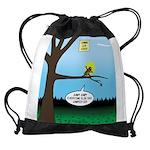 Lemming Leaf Coach Drawstring Bag