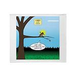 Lemming Leaf Coach Throw Blanket
