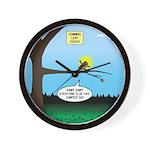 Lemming Leaf Coach Wall Clock