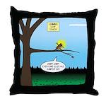 Lemming Leaf Coach Throw Pillow