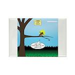 Lemming Leaf Coach Rectangle Magnet (10 pack)