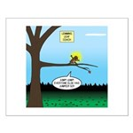 Lemming Leaf Coach Small Poster